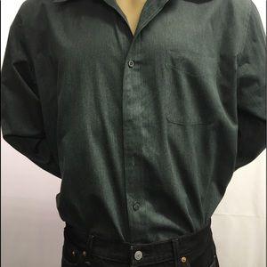 Dockers Men's Long Sleeve Button Down Shirt